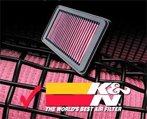 K&N Filters - многослойный хлопковый фильтр нулевого сопротивления